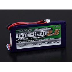 Turnigy nano-tech 2500mAh 3S1P 5~10C Lipo Pack для передатчика