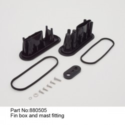 Колодец киля и мачты/ Fin box and mast fitting