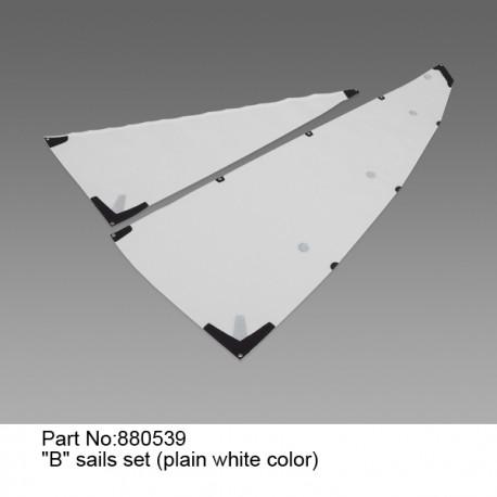 "Комплект парусов ""B""(Белый)/Sails set ""B"" (plain white color)"