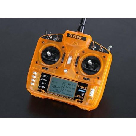 OrangeRx T-SIX 2.4GHz DSM2 6CH Programmable Transmitter w/10 Model Memory and 3-Pos Switch (Mode 2)